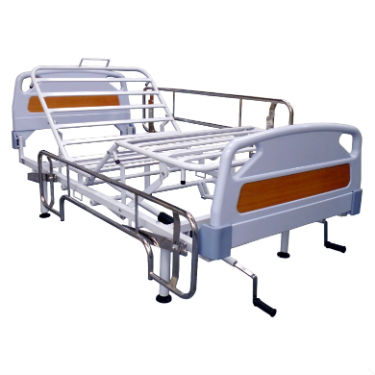 Cama Manual Hospitalaria con ABS